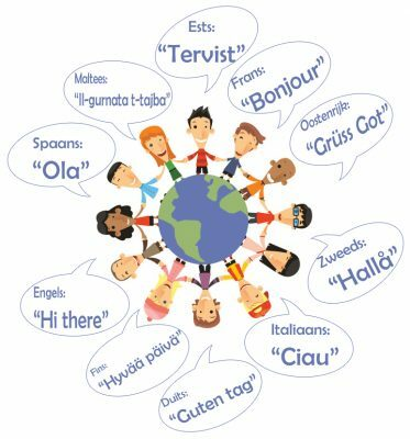 Verschillende Talen